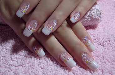 extremly cute nail design  nail art design from coolnailsart