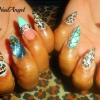 African Princess Nail Art