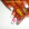 Lip Print for Nail Design