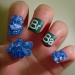 Breaking Bad TV show Nail Art