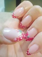 Polka or Poka Dots Nail Design