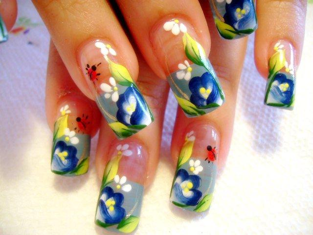 The Exciting Colorful nail designs different variety Photo