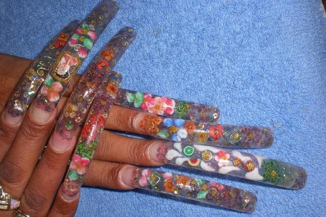 Is It Cool To Have Long Nail Design Nail Art Designs