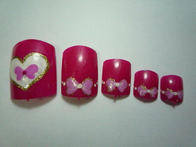 More hot valentine s day nail art