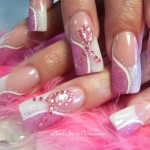 Nail Art Designs for Breast Cancer Awareness