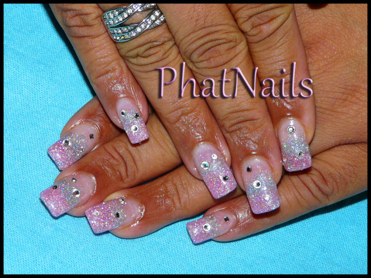 Nail Techs Supporting Breast Cancer Awareness