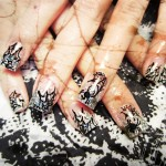Cool Spider Web Nail Art Design