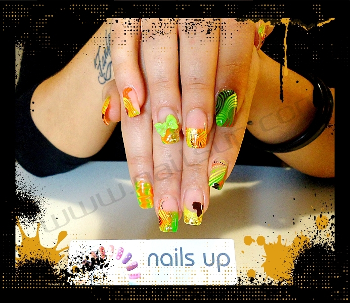 3D Nail Art from a French Nail Artist