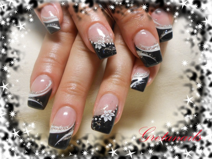 Cute tip nail designs images nail art and nail design ideas nail designs with black tips pink nails black tips simple nail art view images cute seasonal prinsesfo Gallery