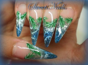 Magic Glass Like Nail Art