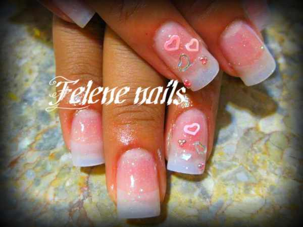 Rekindle Your Love with Cute Heart Nail Art