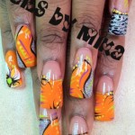 Fun Summertime Nail Art Design