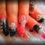 Nail Art for Vegas Casino