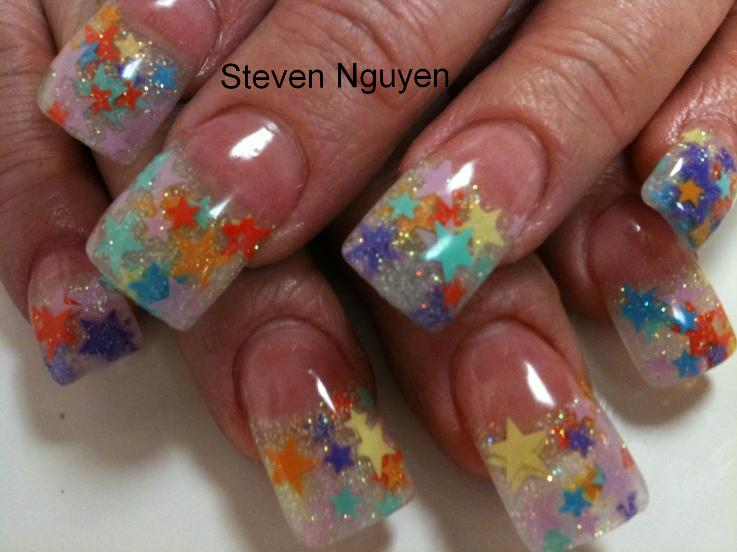 beautiful on nails numerous clients want to get stars on their nails