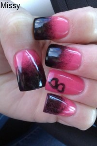 A Blend of Colors Nail Art