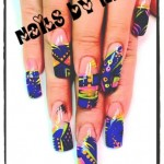 Beautiful Free Style Nail Art