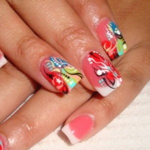 Party Style Nail Art Design
