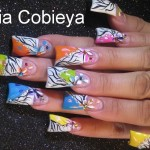 Colorful Spring Nail Art Design