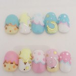 Cute Dreamy Nail Art