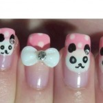 Panda Bear Nail Art Tutorial