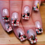 Cute Ant Insect Nail Art