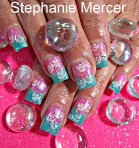 Cool Nail Art From Stamps
