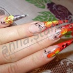 Colorful Nail Art From Ukraine