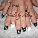 Paw Prints Nail Art