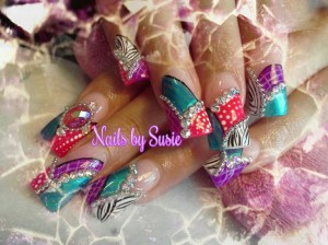Pretty Gems On Your Nails
