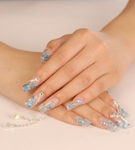 Piercing Jewelry Nail Art