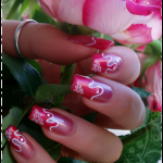 Beautiful Nail Design From France