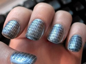The Matrix Nail Design