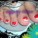Cherry Toes Nail Design