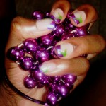 The Purple Grip Nail Design