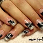 Black Fairy Magical Nail Design