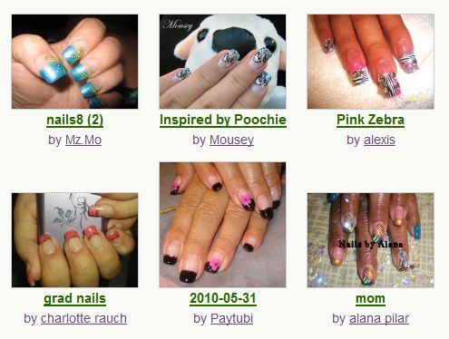 Featured Nail Photos from the Community