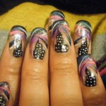 Top Notch Freehand Nail Design