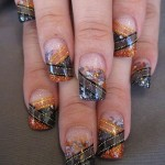 Glass Rock Nail Art