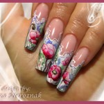 Hand Painted Nail Art