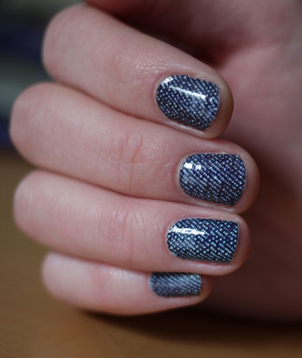 Nail Art That Looks Like Your Jean