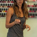 Jessica Alba and Her Nails
