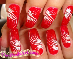 A Nail Design Called Mirage