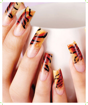 Airbrush Nail Art Nail Art Designs 2014 Ideas Images Tutorial Step