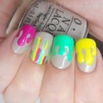Dripping Polish Nail Art
