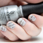 Calligraphy Writing On Your Nails