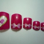 More Hot Valentine's Day Nail Art