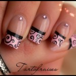 Classy French Style Nail Art