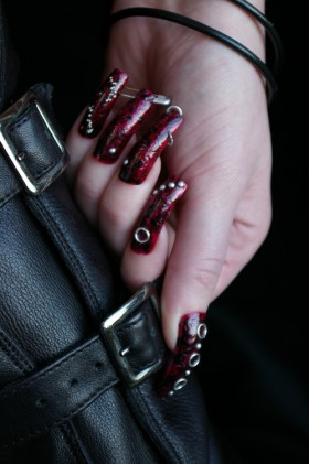 The Punk Look Nail Design