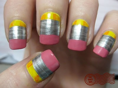 Nail Art for Students in School