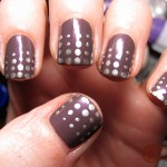 Cute and Easy Manicure Nail Design